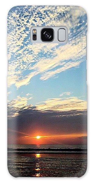 An Ocean And A Sunrise Galaxy Case
