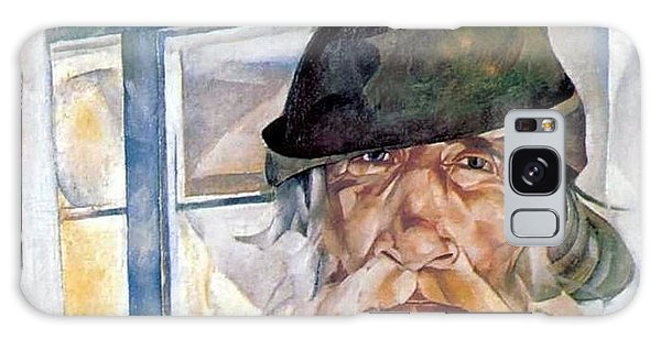 Russian Impressionism Galaxy Case - An Old Man From Olonets by Celestial Images