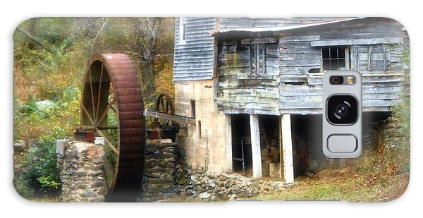 An Old Watermill Galaxy Case by Eva Thomas