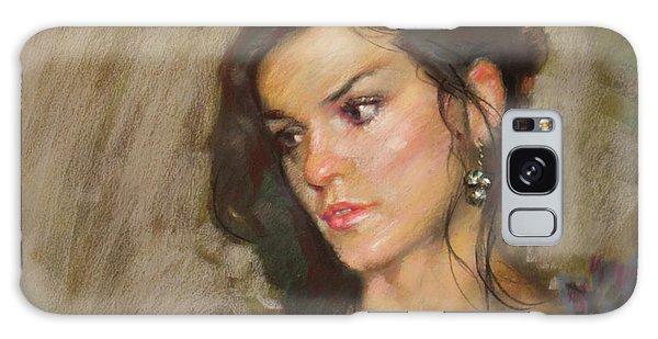 Earring Galaxy Case - Ana With An Earring by Ylli Haruni