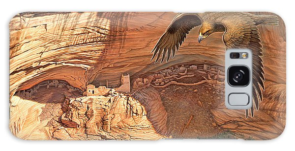 Eagle Galaxy S8 Case - Anasazi - Ancient Ones by Paul Krapf