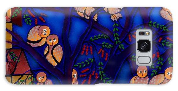 Ancestral Home Near The Tamarind Tree Galaxy Case by Latha Gokuldas Panicker