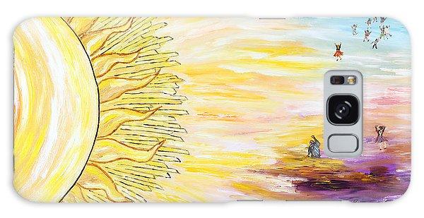 Anche Per Te Sorgera' Il Sole Galaxy Case by Loredana Messina