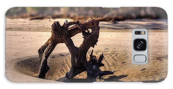 Anchor Driftwood On Jekyll Island Galaxy Case