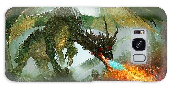 Fantasy Galaxy Case - Ancient Dragon by Ryan Barger