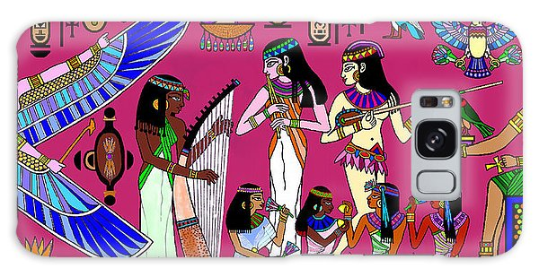 Ancient Egypt Splendor Galaxy Case