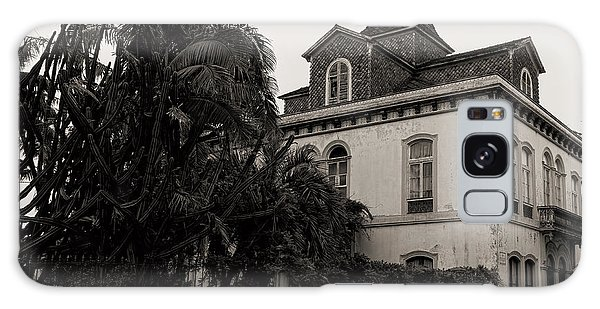 Ancient Hotel And Lush Trees  Galaxy Case