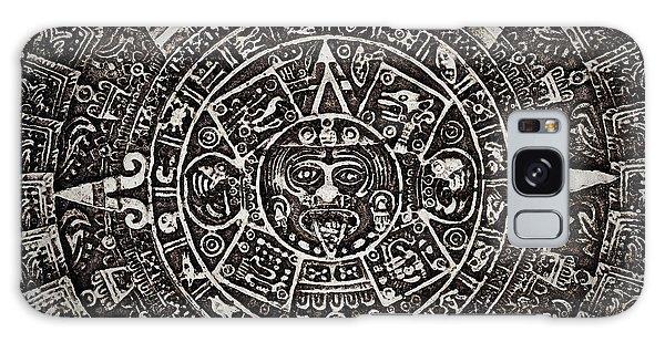 Aztec Sun God Galaxy Case