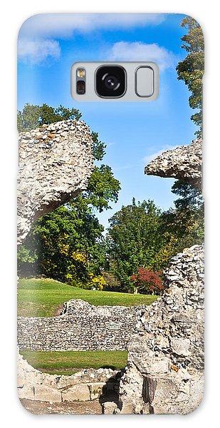Bury St Edmunds Galaxy Case - Ancient Ruins by Tom Gowanlock