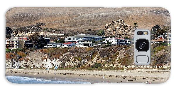 Ancient Sea Stack At Pismo Beach Galaxy Case