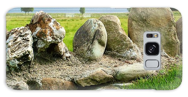 Ancient Stone Wall At Loch Achray Galaxy Case