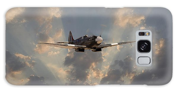 Ww2 Galaxy Case - And Comes Safe Home by Pat Speirs
