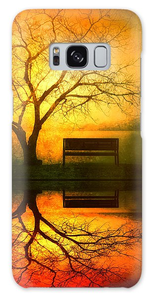Tree Galaxy Case - And I Will Wait For You Until The Sun Goes Down by Tara Turner