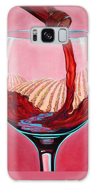 ...and Let There Be Wine Galaxy Case by Sandi Whetzel