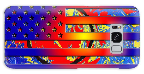 And The Flag Still Stands Galaxy Case