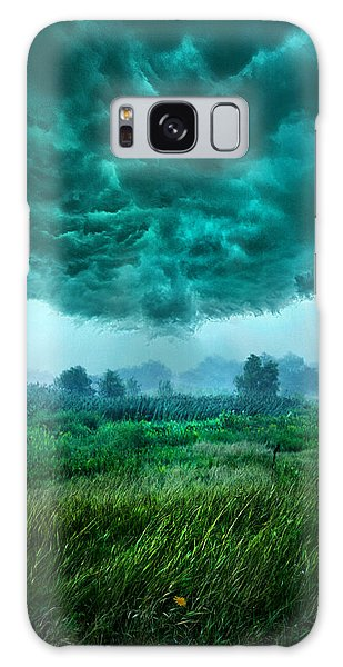 And Then I Ran Galaxy Case by Phil Koch