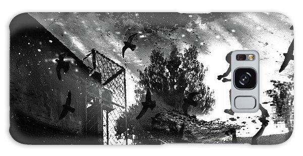 Pigeon Galaxy Case - And We Sent Pigeons Earlier! by Vladimir Konkin