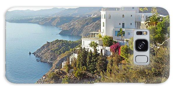 Andalucia Coastline Galaxy Case by Rod Jones