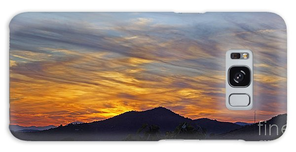 Andalucia Sunset Panorama Galaxy Case