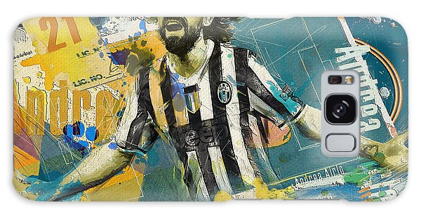 Premier League Galaxy Case - Andrea Pirlo - B by Corporate Art Task Force