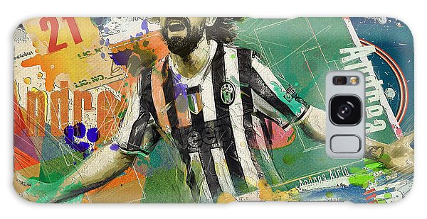 Premier League Galaxy Case - Andrea Pirlo by Corporate Art Task Force