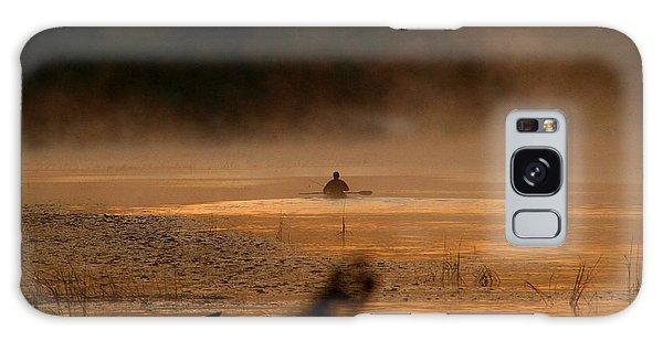 Androscoggin Paddle Galaxy Case by Butch Lombardi