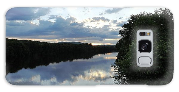 Androscoggin River Reflections Galaxy Case
