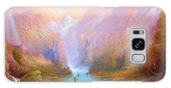 Anduin The Great River Galaxy Case by Joe  Gilronan