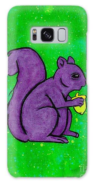 Andy's Squirrel Purple Galaxy Case by Stefanie Forck