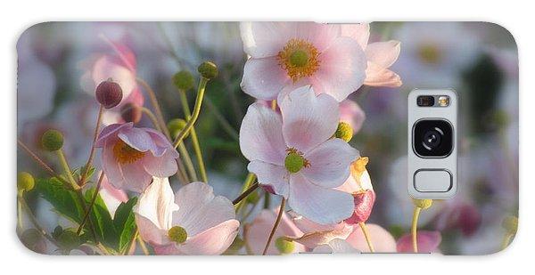 Anemones Soft Beauty Galaxy Case by France Laliberte