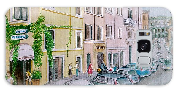 Anfiteatro Hotel Rome Italy Galaxy Case by Frank Hunter