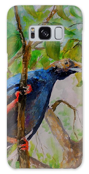 Angel Bird Of  North Moluccas Galaxy Case by Jason Sentuf