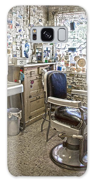 Angel Delgadillo's Barber Shop Galaxy Case