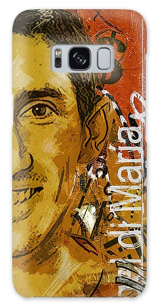 Premier League Galaxy Case - Angel Di Maria - B by Corporate Art Task Force
