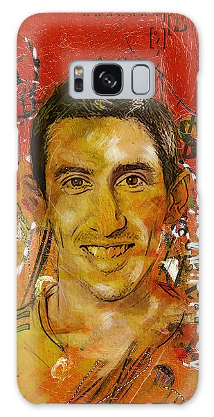 Premier League Galaxy Case - Angel Di Maria by Corporate Art Task Force