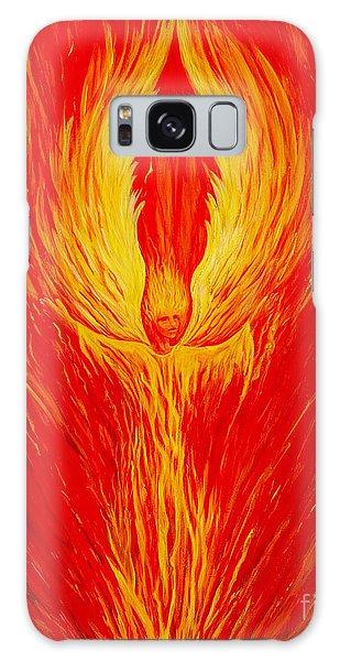 Angel Fire Galaxy Case