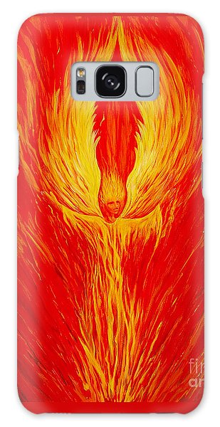 Angel Fire Galaxy Case