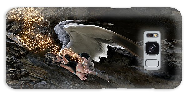 Angel- Give Your Worries To The Father Galaxy Case