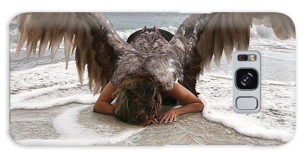 Angel- I Feel Your Sorrow  Galaxy Case