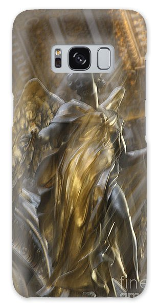 Angel In Motion Galaxy Case by Mary-Lee Sanders