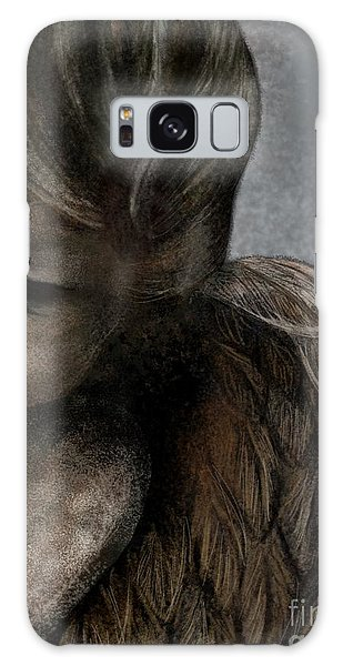 Angel In Pencil Galaxy Case