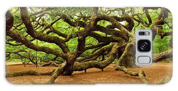 Angel Oak Tree Branches Galaxy Case