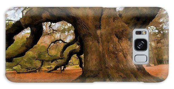 Angel Oak Tree Galaxy Case
