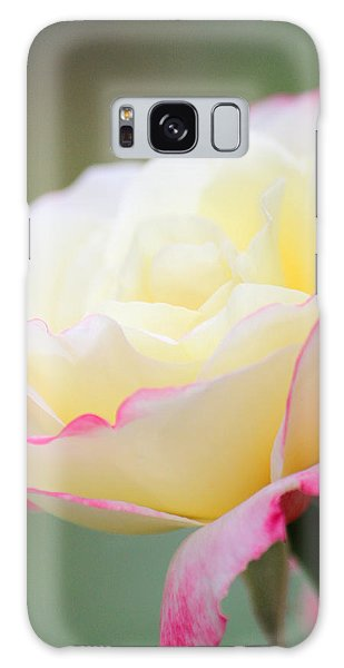Angel Of Roses Galaxy Case by The Art Of Marilyn Ridoutt-Greene