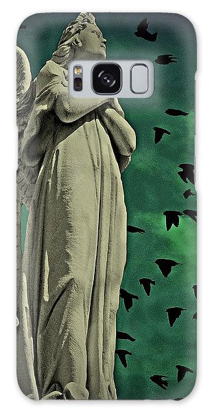 Angel Of Stone Galaxy Case