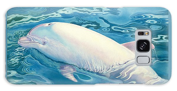 Dolphin Galaxy Case - Angel Of Taiji by Catherine Garneau