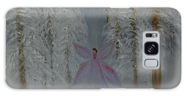 Angel Of Winters Past Galaxy Case