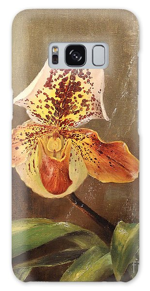 Angel Orchid Galaxy Case