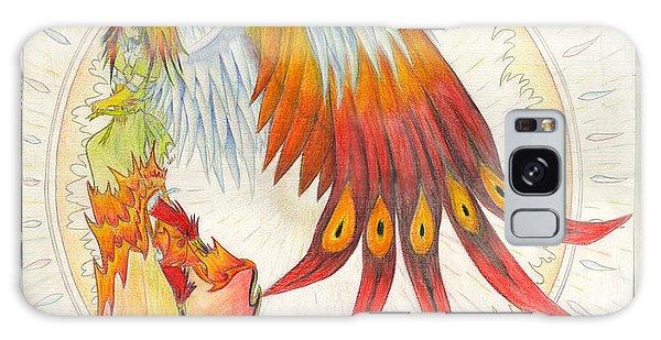 Angel Phoenix Galaxy Case by Shawn Dall