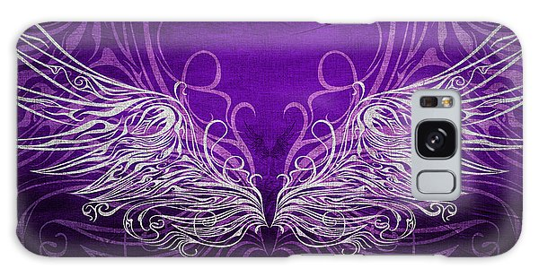Angel Wings Royal Galaxy Case by Angelina Vick